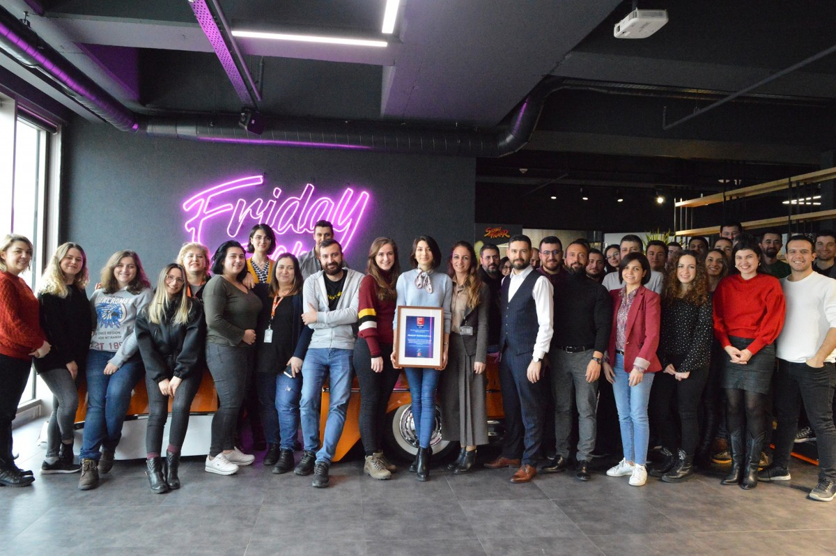 PEAKUP'a Great Place to Work Sertifikası